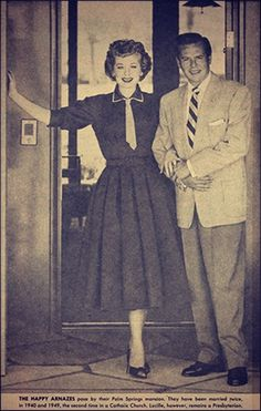 Lucy and Desi,    Parade magazine 1957    from the Library of Congress I Love Lucyexhibition, Lucy's scrapbook