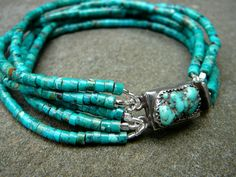Looking for a signature summertime piece of jewelry? #Turquoise #Vintage