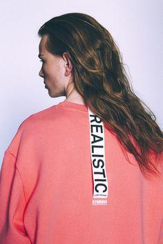 [AW16 Music] Realistic Sweatshirts(Pink)