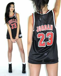 Awesome Dope Dresses vtg 90s Michael JORDAN Chicago Bulls mesh SPORTY JERSEY basketball NBA shirt top... Check more at http://mydress.gq/fashion/dope-dresses-vtg-90s-michael-jordan-chicago-bulls-mesh-sporty-jersey-basketball-nba-shirt-top/