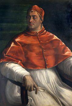 Sebastiano del Piombo, 'Portrait of Clement VII', 1525-6. Museo di Capodimonte, Naples (Q147) © Soprintendenza Speciale per il Polo Museale di Napoli