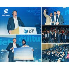 Ericsson's CEO Hans Vestberg was thrilled to meetwith 450 future innovators at the Indian School of Business earlier this month.