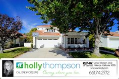 Homes for Sale in Valencia, CA Brought to you by Holly Thompson of REMAX of Santa Clarita: 24615 Varese Ct – Gorgeous Valencia Summit Home! For more information on this listing or to view all of my listings, go to www.SVCHolly.com or contact me today at 661-714-2772 with any questions or to see this home!