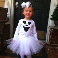 Halloween costumes kids Haylie would love this bc she wants to be a ghost or a pumpkin