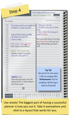 [DayDesigner] How to make a DayDesigner out of a regular page-a-day planner