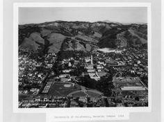 University of California, Berkeley Campus, 1931(via California Digital Library)