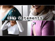 DIY vêtements - Customisation pulls et echarpe