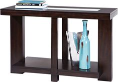 Shop for a Lochlin Sofa Table at Rooms To Go. Find Sofa Tables that will look great in your home and complement the rest of your furniture. #iSofa #roomstogo