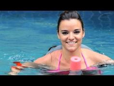How to Do Water Aerobics Bicycle Exercises | Water Aerobic Exercise