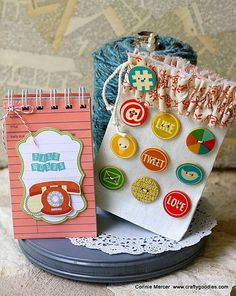 crafty goodies: The Curtsey Boutique ~ Pass Word notebook
