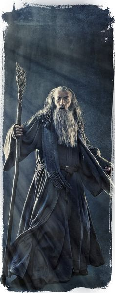 The Hobbit - Gandalf by Gianfranco Gallo