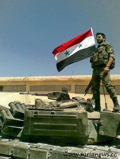 Heroism and Bravery of the Syrian Arab Army - Hezbollah Top Official Save Syria, Syria Flag, Syria News, Syrian Civil War, Heavy And Light, City North, Sunflower Wallpaper, Military Equipment, Warfare