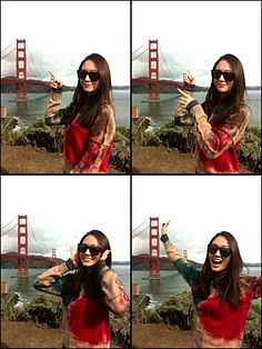 """Krystal recently posted pictures that she took in San Francisco. Krystal recently posted pictures that she took in San Francisco. On October Krystal posted on her """"Enjoying San Francisco. Krystal Sulli, Krystal Fx, Jessica & Krystal, Jessica Jung, Kpop Girl Groups, Korean Girl Groups, Kpop Girls, Krystal Jung Fashion, Jung In"""