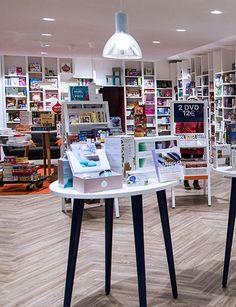 En collaboration avec Charlène MENAGER - CBA, designing brands with heart réalise le nouveau concept France Loisirs  dans le centre commercial Saint Jacques à Metz
