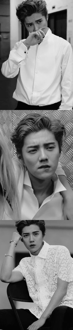 Black & White Luhan for Vogue ME