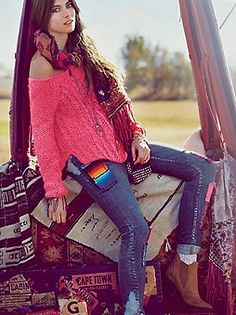 Free People Clothing Boutique > Chunky Cable Pullover
