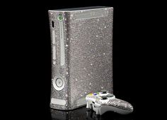 We've seen the golden Xbox 360 mod and many modifications by Swarovski crystals. Now Xbox 360 and Swarovski crystals meet together. Glitter Make Up, Glitter Dust, Sparkles Glitter, Girls Dress Up, Swagg, Cool Stuff, Stuff To Buy, Swarovski Crystals, Iphone 6