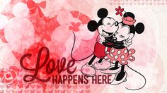 Mickey Minnie Love official Disney wallpaper perfect for pocket scrapbooking or Project Life Mickey And Minnie Love, Mickey Minnie Mouse, Disney Mickey, Disney Art, Walt Disney, Disney Magic, Cute Wallpapers, Wallpaper Backgrounds, Blog Wallpaper