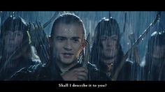 Haha! You can always count on Legolas and Gimli to lighten the mood!