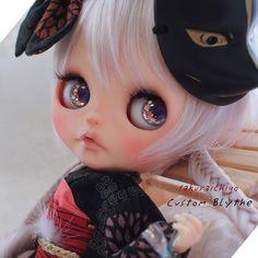 ** 桜苺 ** カスタムブライス ** 夏祭りの子狐ちゃん **_画像1 Dolls, Beauty, Babies, Blythe Dolls, Baby Dolls, Babys, Puppet, Doll, Baby