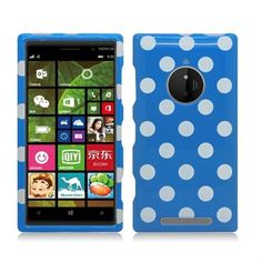 #Nokia #Lumia #830 Dots Light Blue/ White #Faceplate #Snap-On #Hard #Cover #Case. This Dots Light Blue/ White Faceplate Snap-On Hard Cover Case will make your Nokia Lumia 830 more attractive. It provides an added protection against accidental drops and creates individual style for your Nokia Lumia 830. Only $8.99 at #Acetag.com