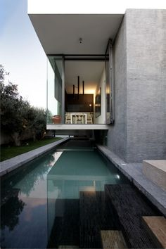 Beautiful Houses: Beautiful Houses: Hanging Home in Malta... wonderful thought, to just be able and jump in the pool