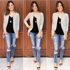 Mas sei me virar! Casual Work Outfits, Classic Outfits, Work Casual, New Outfits, Casual Chic, Casual Looks, Cool Outfits, Fashion Outfits, Business Casual Attire