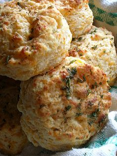 Cheddar biscuits...sans bisquick