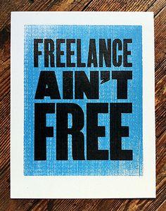 Freelance ain't Free | Mikey Burton #truth #wisdom