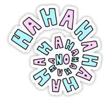 Hahaha no. Sticker