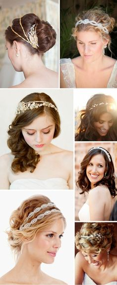 Wedding Hairstyles - bands