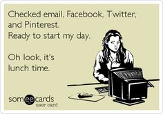 Social media can consume a lot of time out of our day if we let it! #social# media #humor