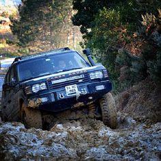"""#rahatsiziz #rangerover #rangeroverp38 #landrover #p38a #p38 #4x4 #offroad #mud"""