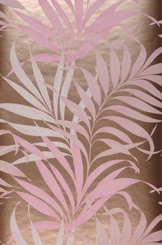 Tropical Wallpaper, Retro Wallpaper, Wallpaper Samples, Pattern Wallpaper, Motifs Roses, Color Rosa, Basic Colors, Designer Wallpaper, Surface Design