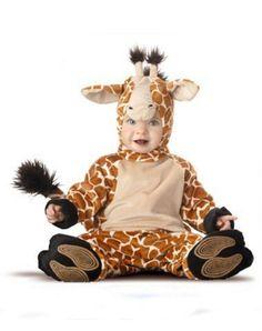 Baby Giraffe Costume  http://barnaclebill.hubpages.com/hub/babyhalloweencostumes