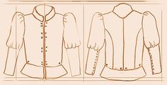 Medieval Clothing and Footwear- 15th Century Wool Doublet