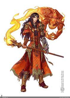 Fantasy Wizard, Fantasy Male, Fantasy Rpg, Medieval Fantasy, Fantasy Character Design, Character Design Inspiration, Character Concept, Character Art, Character Ideas