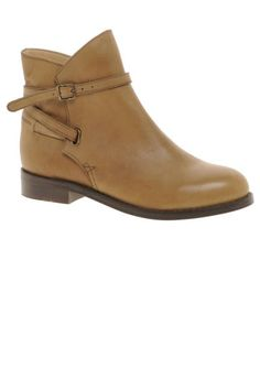 ASOS flat ankle boots