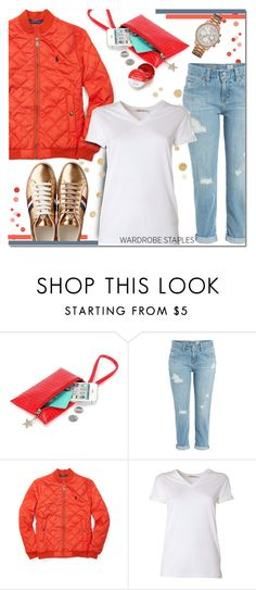 """""""Wardrobe Staple: White T-Shirt"""" by huda-alalawi ❤ liked on Polyvore featuring AG Adriano Goldschmied, T By Alexander Wang, GUESS, WardrobeStaple, polyvoreeditorial, topset and plyvorecontest"""
