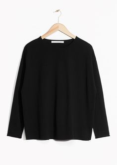 & Other Stories | Boxy Cotton Sweater