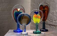 Afbeeldingsresultaat voor oiva toikka glass Glass Design, Fused Glass, Finland, Art Lessons, Circles, Glass Art, Jar Art, Art Tutorials, Stained Glass