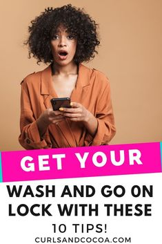 10 Tips to help you achieve the perfect wash and go hairstyle with natural hair. Cute Natural Hairstyles, Protective Hairstyles For Natural Hair, Quick Hairstyles, Hairstyles Videos, Natural Hair Regimen, Long Natural Hair, Natural Hair Styles For Black Women, Black Hair Growth, Curly Hair Types