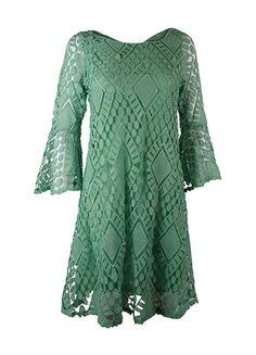 Judith March Classically Crocheted Dress – DejaVu