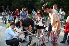 Critical Mass Bratislava by vera kisel, via Flickr Bratislava, Cycling, Bicycle, Gym, Sports, Hs Sports, Biking, Bike, Bicycle Kick