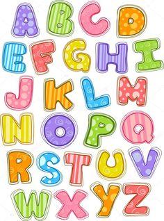 Illustration about Patchwork scrapbook alphabet on white background. Illustration of mosaic, motif, handiwork - 35786772 Alphabet A, Cute Fonts Alphabet, Alphabet Capital Letters, Alphabet Templates, Clip Art, Illustration Mignonne, Bubble Letters, Graffiti Lettering, Scrapbook