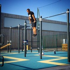 A good training always start with muscle ups! Calisthenics Workout, Outdoor Gym, Muscle Up, Street Workout, Train Hard, Summer 2016, Workouts, Training, France