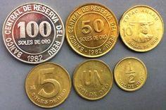 ✅MONEDA DEL PERÚ✅  •SERIE SOLES•  - 100 Soles - 50 Soles - 10 Soles - 5 Soles - Un sol - 1/2 sol Año: 1975-1983 Metal : Niquel y Bronce