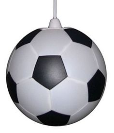 Football Lampshade Black and White UK