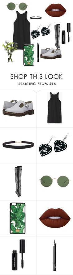 """Plants r Friends"" by s-grunert on Polyvore featuring Dr. Martens, MANGO, Humble Chic, Witch Worldwide, N°21, The Row, Dolce&Gabbana, Lime Crime, Bobbi Brown Cosmetics and NARS Cosmetics"