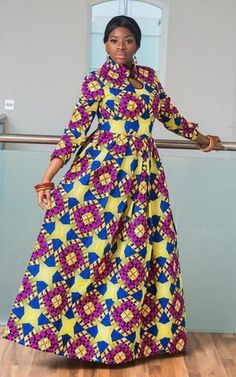Deido African Maxi Source by mafofana African Maxi Dresses, African Fashion Ankara, African Fashion Designers, Latest African Fashion Dresses, Ankara Dress, African Print Fashion, African Attire, African Outfits, African Wear